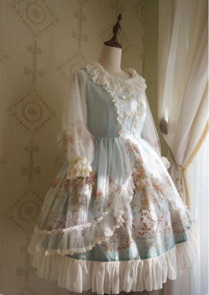 *R.S*The Emperor's Nightingale Classic Lolita OP Dress