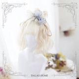 ★Iris★35cm+Milky white air banged lolita wig