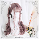 ★Dolles★65cm+Long Curly Air Banged Lolita Wig