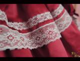 Vintage doll***Satin Lolita Long Sleeve OP  Dress