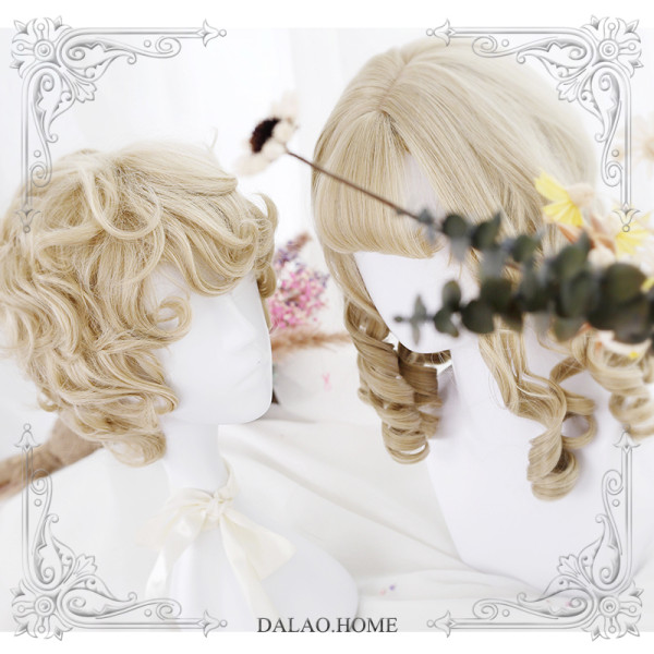 ★Prince and maiden meet★Roman rolls couples lolita wig