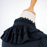 SéARLAIT~Chiffon Shirt With Long Sleeves