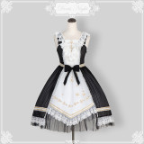 The twilight hymns*Unicolor Stars Lolita JSK Dress