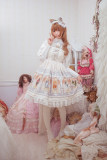 DorisNight**The cat tarot*Lolita Print JSK Dress