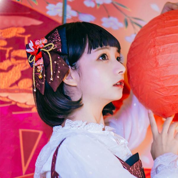 DorisNight**Sakura Firework*Lolita Headdress/Hairclip