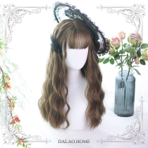 ★ Jollian★55cm + Water wavy curly  lolita wig