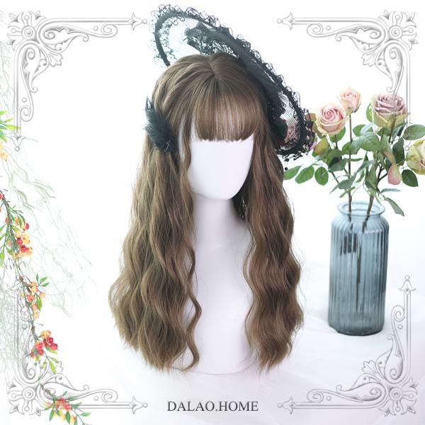 ★ Jollian★55cm + Water wavy curly  lolita wig