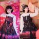 Sakura Firework*Lolita Print Jsk Dress