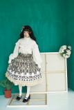 **A Lot Of Button*Vingtage Pure Cotton Long Sleeve Lolita Blouse