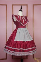 Vintage doll***Satin Lolita JSK Dress