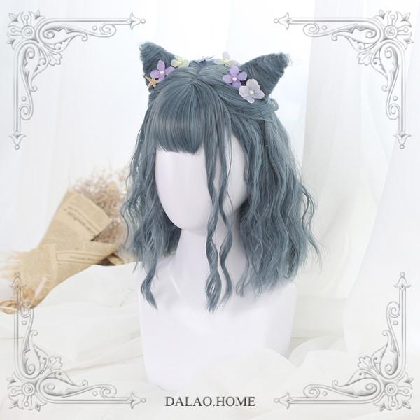 ★Divus★45cm+Little devil horns short Bang Lolita Wig