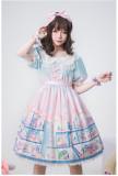 Angelcat**Doll's House Series Print Lolita OP Dress