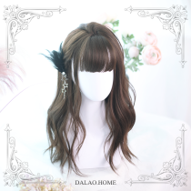 ★Aliel★50cm + Big wave curly lolita wig