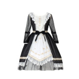 The twilight hymns*Unicolor Stars Lolita OP Dress