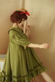 **Chiffon *Peter Pan Collar Long Sleeve Doll OP Dress