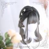 ★Morean★55cm+ Dyeing lolita wig