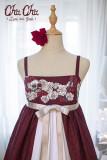 NyaNya*Love and Death *Printed Lolita High-Waisted Jumper skirt