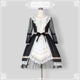 The twilight hymns*Unicolor Stars Lolita OP Dress