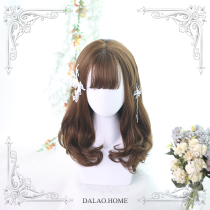 ★Dabria★55cm+Medium length curly lolita  wig