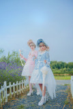 SUSIN-Sweet  and lace trim Hiem sleeves Lolita Blouse