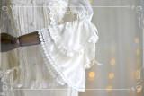 Cryptolalia*Vintage European Lace Chiffon Shirt/Blouse