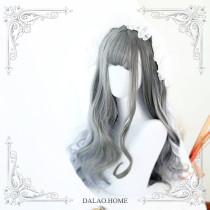 ★The islands diary ★65cm+Air banged lolita wig
