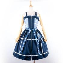 POLICE BOX~Tribute Silk Lolita Jumper skirt