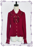 Lolita long sleeves chiffon shirt /blouse