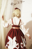 Pegasus~Print Sweet Lolita JSK Dress Normal Waist  Version Ⅰ