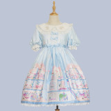 Angelcat**Doll's House Series Print Lolita OP Dress
