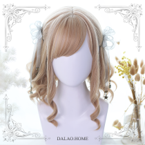 ★Elra★30cm +  Short roman rolls lolita wig