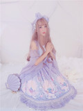 To Alice*The mermaid ptint lolita op dress