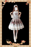 Infanta*Royal Mural*Printing Sweet Lolita Jumper Skirt