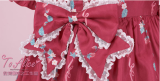 To Alice*Strawberry cake print lovely lolita dress