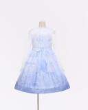 To Alice*Song of the sea prints chiffon lolita dress