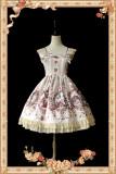 Infanta*Cinderella*Printing Sweet Lolita Jumper Skirt