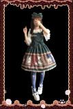 Infanta*Magic dictionary*Printing Lolita Jumper Skirt