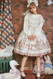 Honey honey*Annie's breakfast*lolita jumper skirt