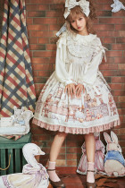 Honey honey*Annie's breakfast*lolita jumper skirt