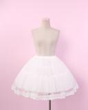 To Alice*Gorgeous gauze lolita oetticoat/skirt