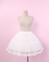 To Alice*Gorgeous gauze lolita oetticoat/skirt