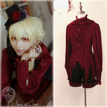 Arca et Ovis*Little Deamon* Vintage Gothic Long Sleeve Lolita Blouse In Stock