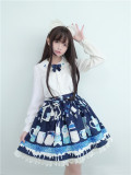 To Alice*Lovely baby's bottle bear prints lolita  skirt