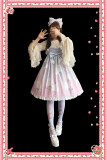 Infanta*Rainbow Marshmallow*Printing Lolita Jumper Skirt
