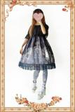 Infanta*Witch's Nightmare*Printing Sweet Lolita Jumper Skirt