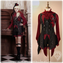 Arca et Ovis*Little Deamon* Vintage Gothic Lolita Vest In Stock