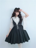 To Alice*Daily vintage elegant preppy style lolita vest skirt