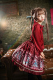 Neverland*Opera cats*printing daily  lolita  skirts