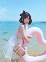 To Alice*Maiden secret falbala daily lolita messenger bag