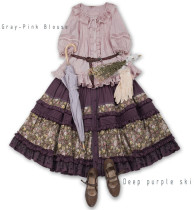 JS-LOLITA*Jenny and mentna tea*lolita skirt